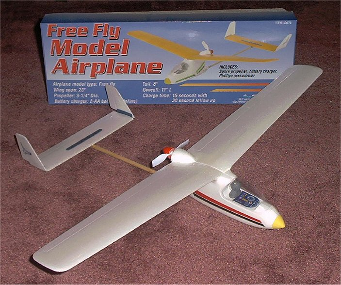 Free Fly Model Airplane Harbor Freight